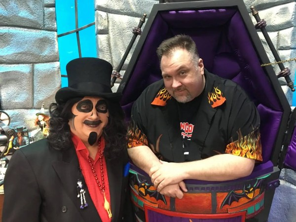 Svengoolie (Rich Koz) with Christopher Jones