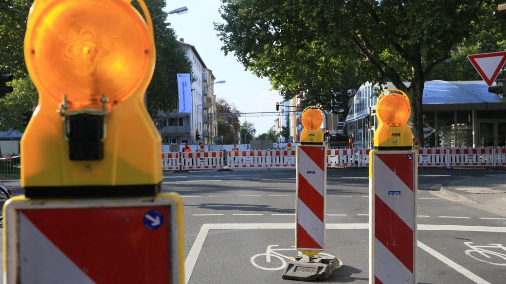 Straßensperrungen in Mainz zum Tag der Deutschen Einheit