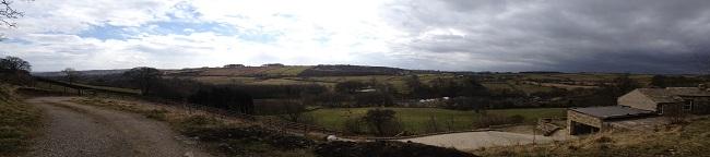 Yorkshire Moors Panorama