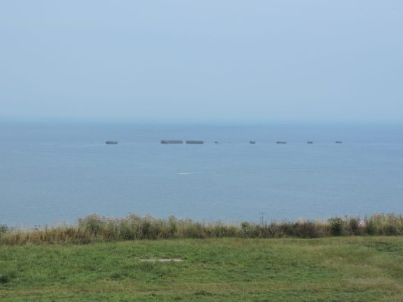 Mulberry Harbour Remnants