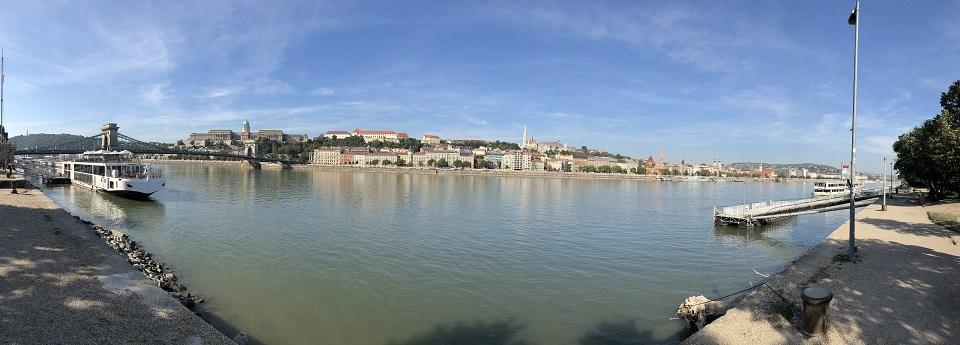 Budai folyópart, Budapest, Magyarország