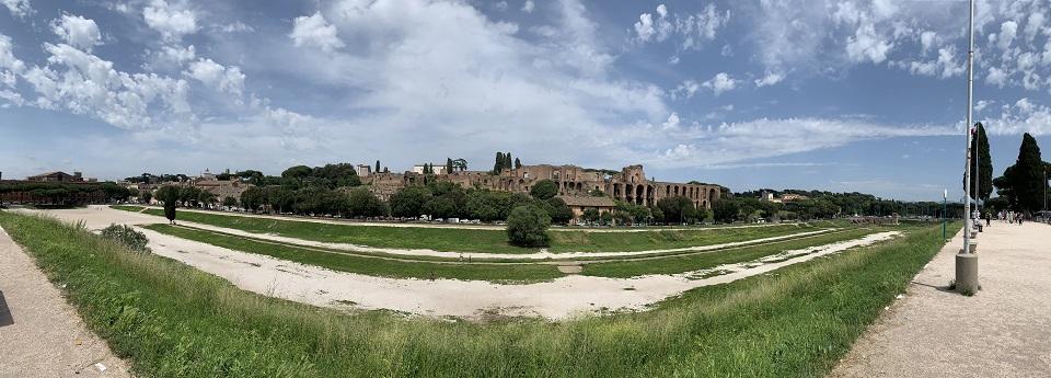 Circo Massimo/Tempio di Apollo Palatino, Roma, Lazio, Italia