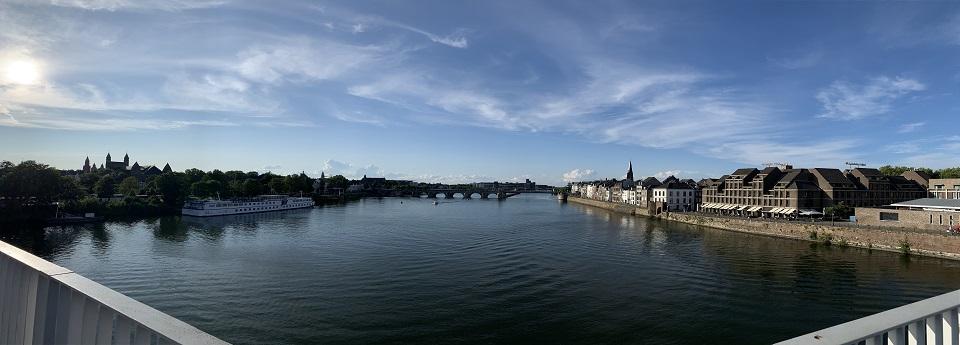 Maastricht en de Maas, Maastricht, Limburg, Nederland