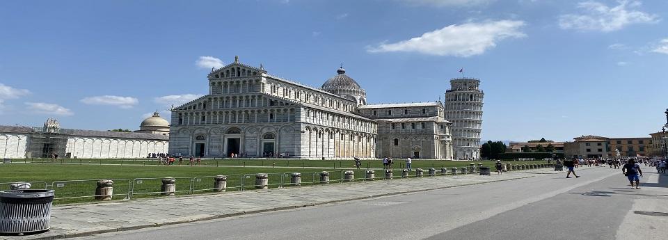 Cattedrale di Pisa e Torre di Pisa, Pisa, Toscana, Italia