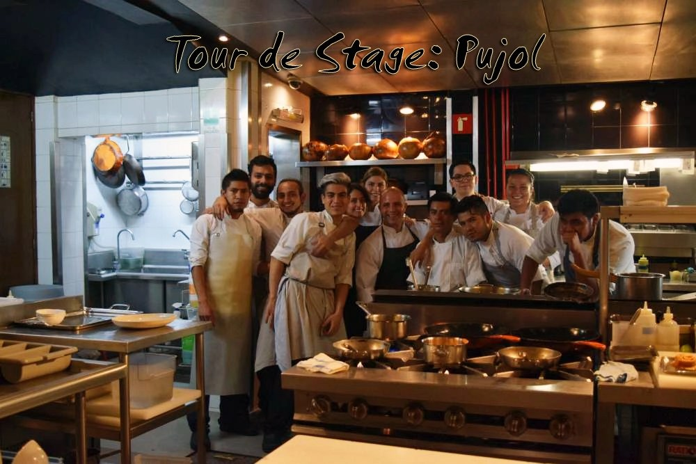 Tour de Stage Mexico City Pujol  CIA Culinary School