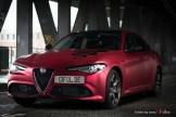 Alfa Romeo Giulia -Cherry Red - CiFol-Werbetechnik 13