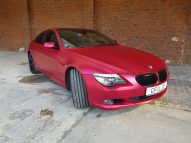 BMW 6er - Cherry Red - CiFol-Werbetechnik (3)