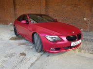 BMW 6er - Cherry Red - CiFol-Werbetechnik (3)
