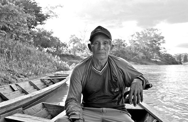 Jorge Rios Pacaya, a smallholder from Ucayali, Peru. A CIFOR study shows that small producers in the Peruvian Amazon are barely considered in forest policies. Aoife Bennett-Curry / CIFOR