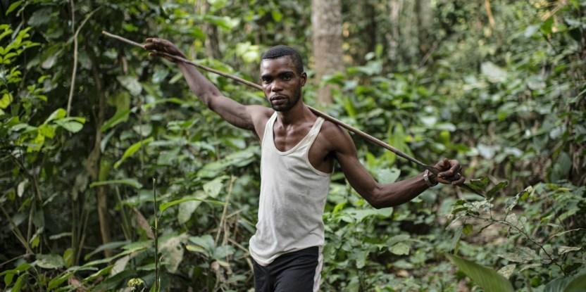Research suggests hunters in the Congo Basin face similar issues to hunters elsewhere. Ollivier Girard / CIFOR.