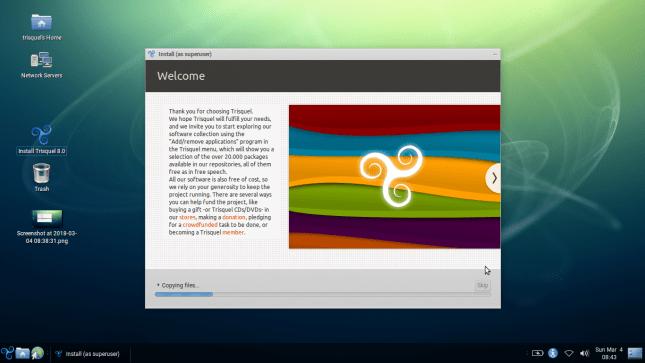 Panduan instalasi Linux segala distro
