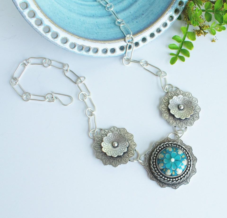 Mandala in jewelry.