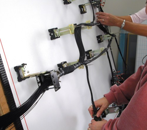 small resolution of wire harnes board