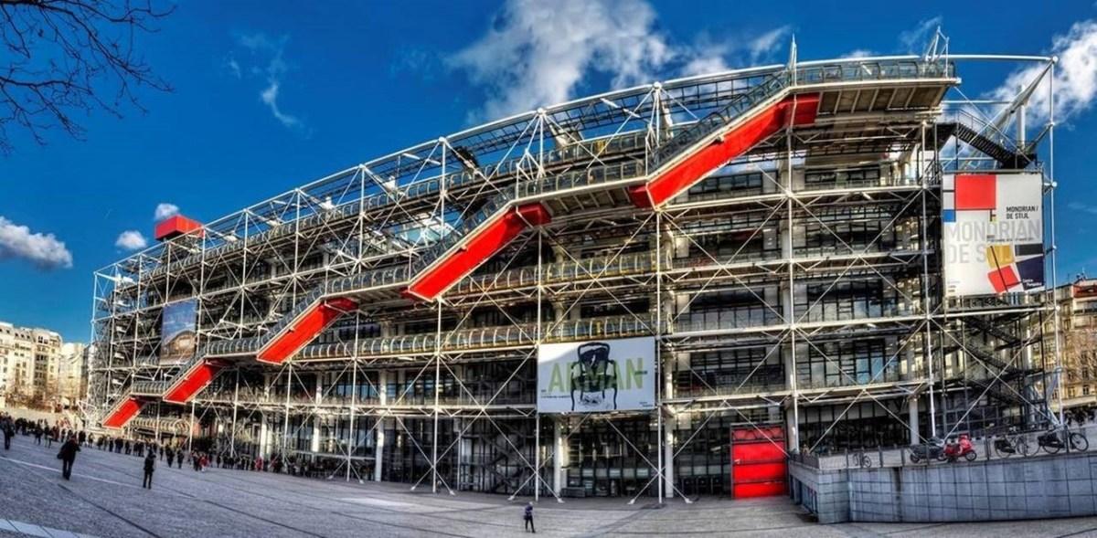 Le Centre Pompidou - La Mecque de L'art Moderne