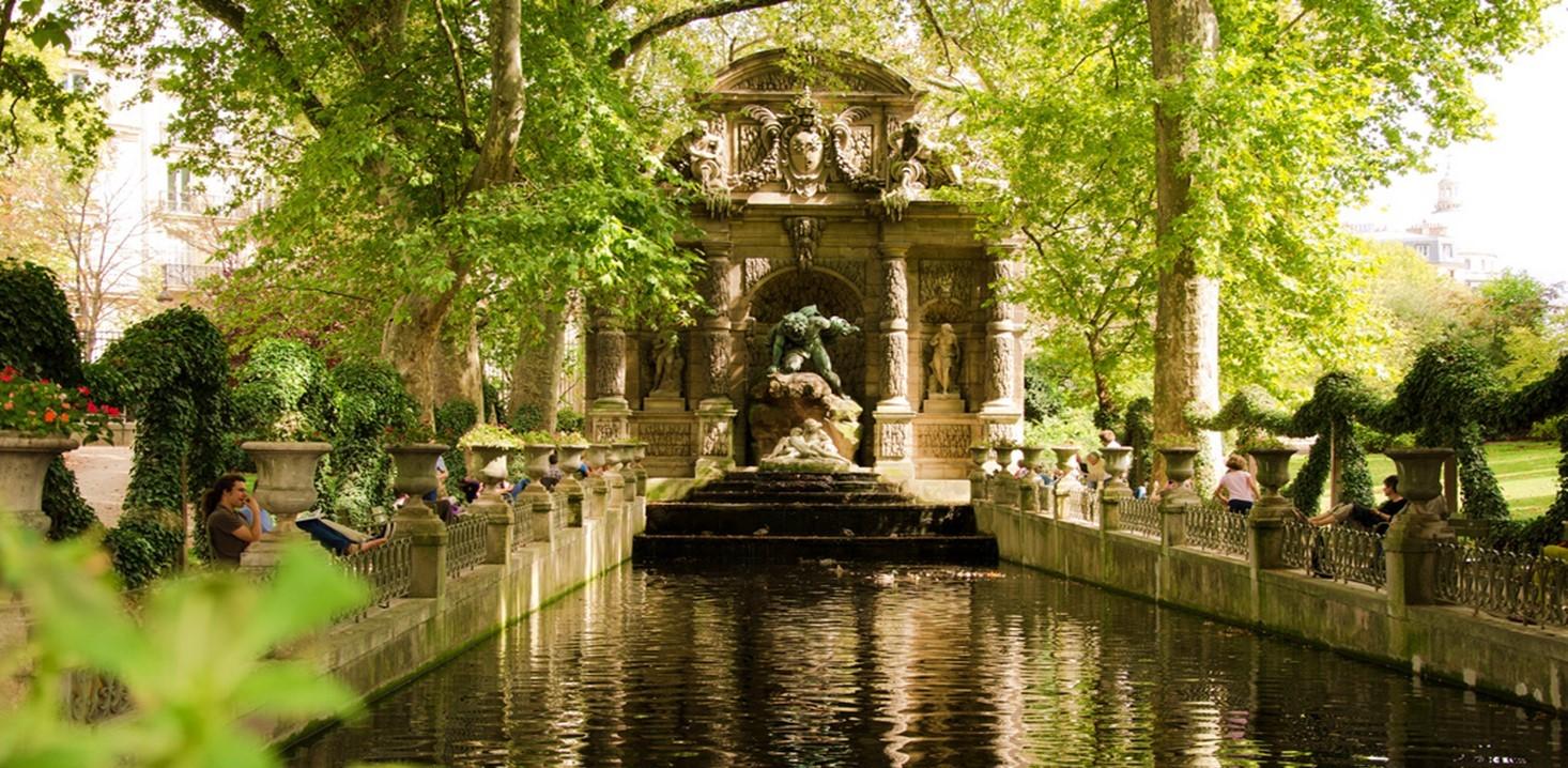 Le jardin du luxembourg un jardin merveilleux for Buvette des marionnettes du jardin du luxembourg