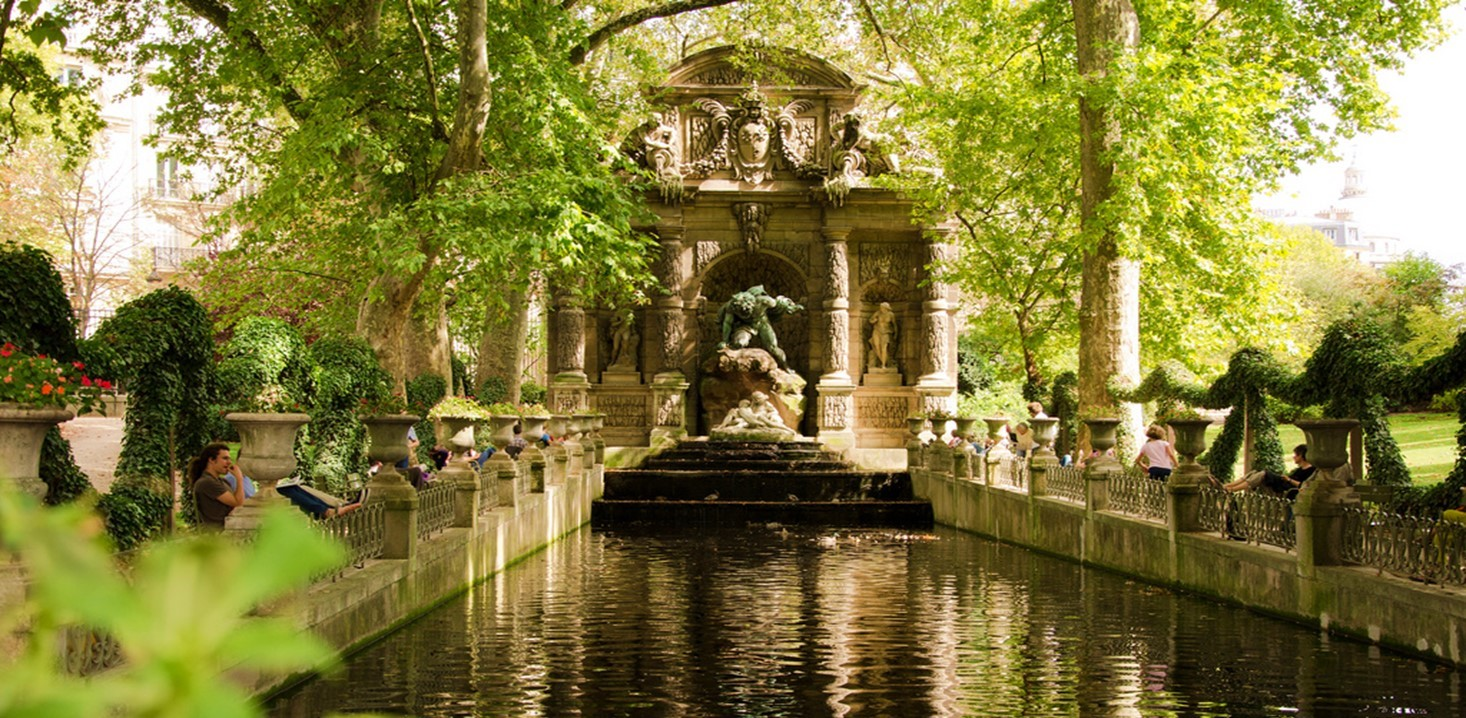 Le jardin du luxembourg un jardin merveilleux - Jardin du luxembourg statue de la liberte ...