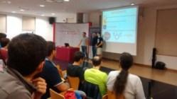 Presentación del evento a cargo de Luis Fernández
