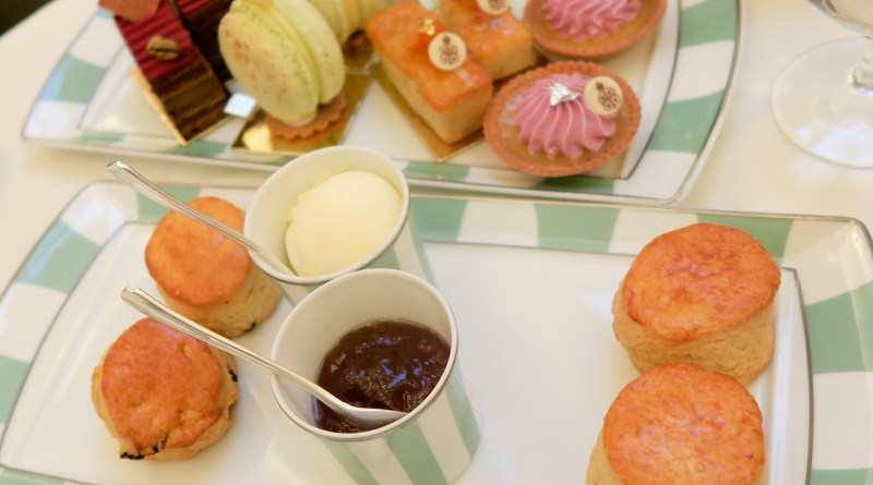 Claridges afternoon tea