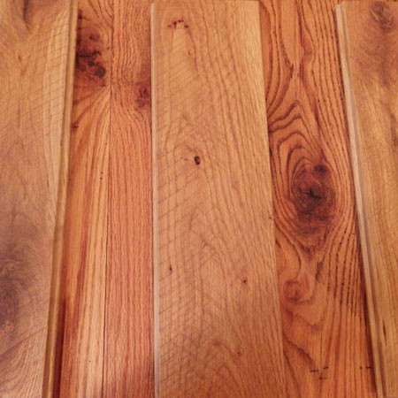 Reclaimed wide plank floors oak mix