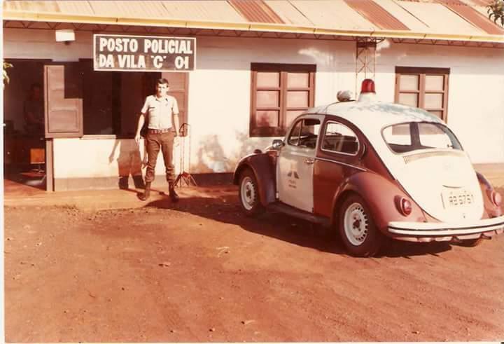 Posto de segurança da Vila C de Itaipu. Foto: Arquivos da Internet.
