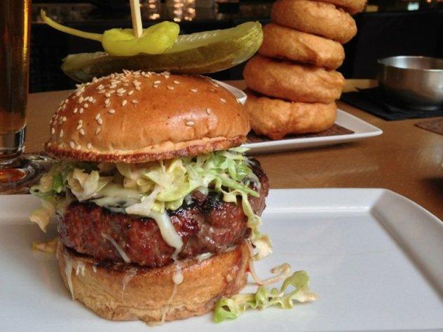 bourbon steak burger