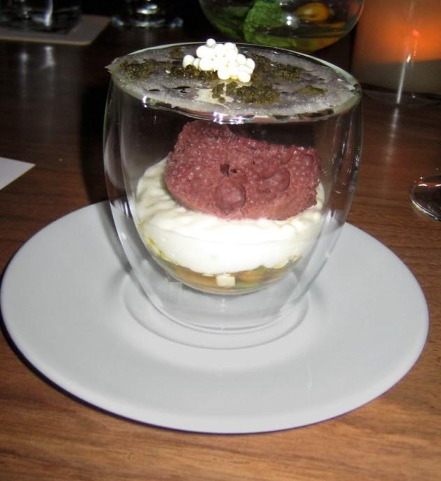 Chef Ng savory desserts