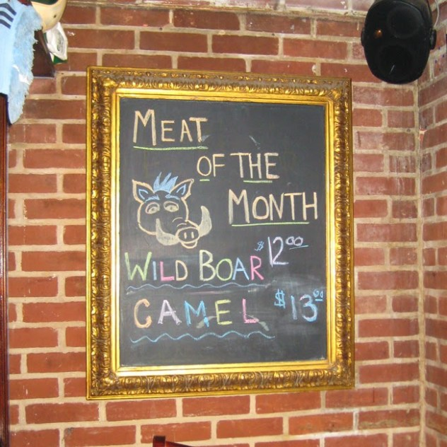 Meat of the Month Wold Boar Baltimore