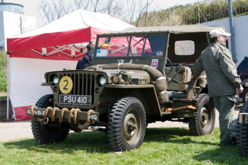 Blyth Battery - US Airborne jeep