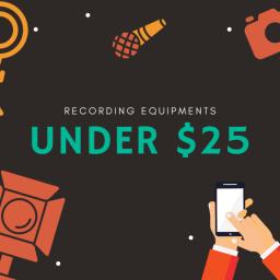 Amazon Essential Recording Tools Under $25 For Clapper