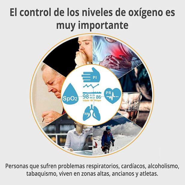 importancia del control de oxígeno - Claro Shop