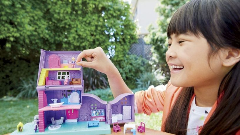 Polly Pocket: un universo de diversión en miniatura