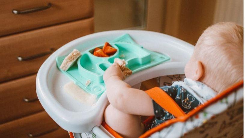Elige la mejor silla alta para tu bebé