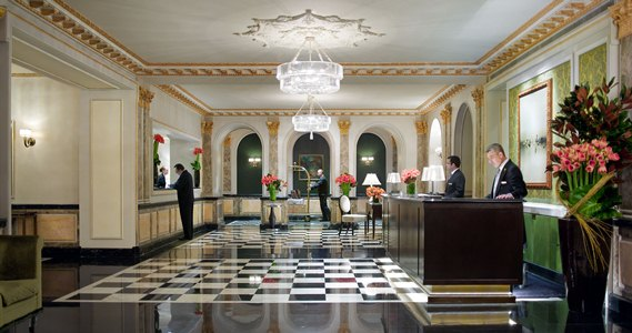 Lobby of The Pierre, New York