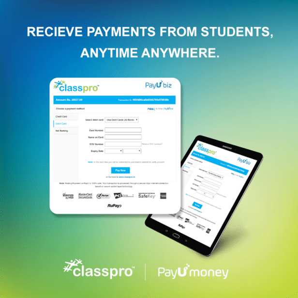 classpro payumoney integration