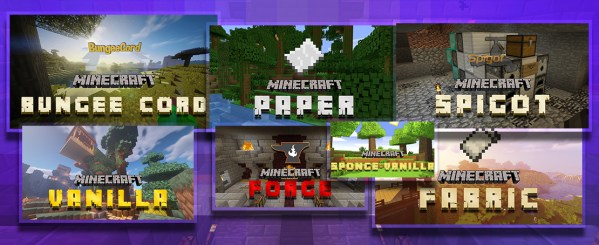minecraft Game Type Selector