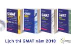 Lịch thi GMAT năm 2018