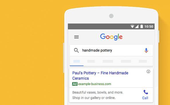 google ads search campaign