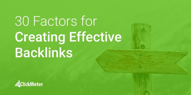 Create Effective Backlinks