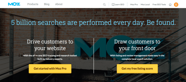 link building tool moz
