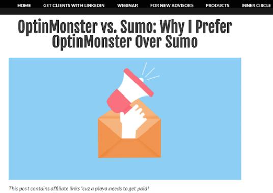 optinmonster vs. sumo