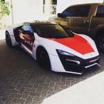 Cea mai scumpa masina de politie din lume se afla in Abu Dhabi