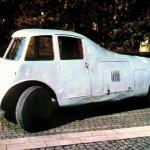 Primul automobil aerodinamic din lume construit de un roman