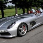 Mercedes SLR Stirling Moss. Un model deosebit scos la licitatie