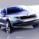 Skoda Kodiaq: Primele imagini cu noul SUV Skoda