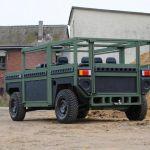 Noul SUV militar Partisan One: Cea mai buna masina pentru cele mai rele drumuri