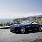 Spectaculosul concept Mercedes-Maybach 6 Cabriolet