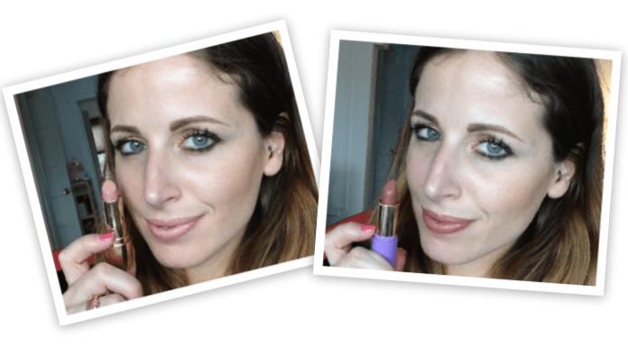 A sinistra Deborah e a destra Neve Cosmetics
