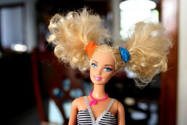 bad hair barbie 012
