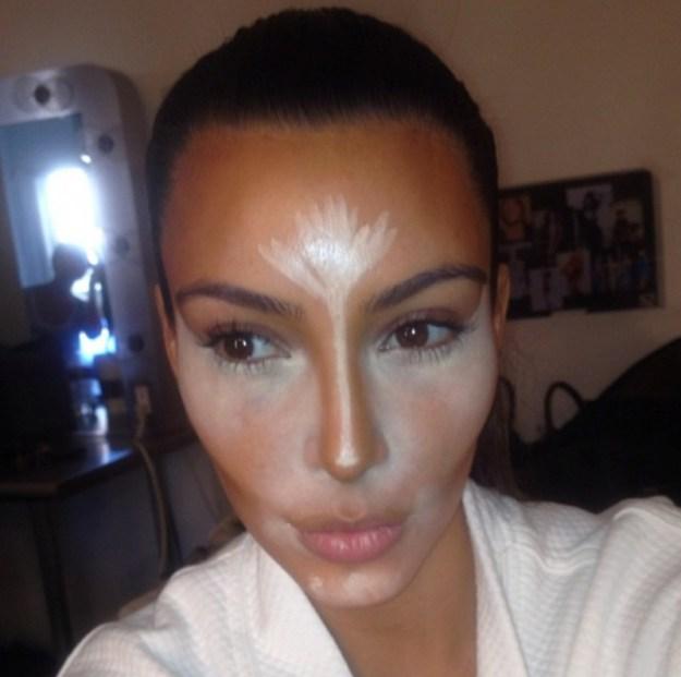 Kim-Kardashian-Contouring-Makeup-Scott-Barnes