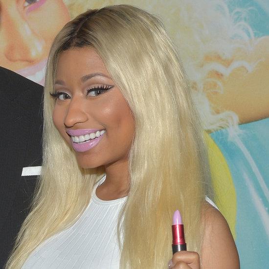 Nicki Minaj... orrore! Però fa parte del personaggio, la perdoniamo ;)